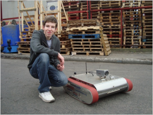 Talented teen wins award for search and rescue robot design
