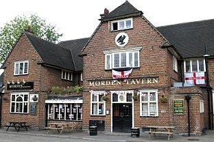 The Morden Tavern, owned by Merton Council, was due to be sold to a developer
