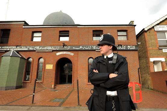 Builder grilled over bacon mosque attack