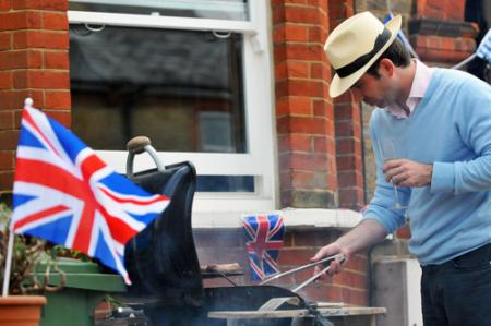 Residents enjoy royal wedding a street party in Wyeths Road, Epsom.