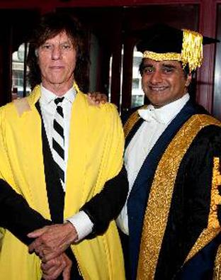 Jeff Beck with Sanjeev Bhaskar