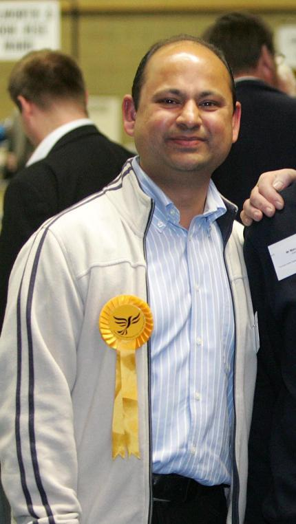 Surbiton councillor Umesh Parekh is standing down after landing a job with Friends of the Earth