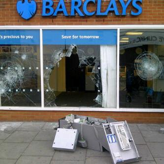 Barclays in Croydon. Posted on Twitter by Milo-d