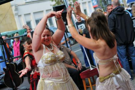 Pictures from the 2011 St John's Hill Festival in Battersea with the Wandsworth Guardian.