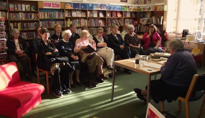 Sanderstead Library has celebrated its 75th anniversary