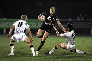 Challenge: Esher's Perry Parker tests th