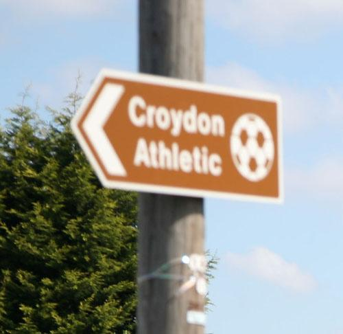 Croydon Athletic unable to fulfil match duties