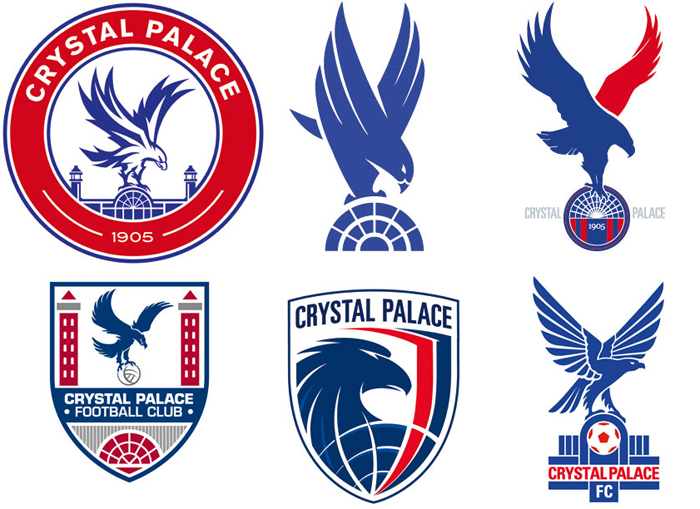 Crystal Palace reveal possible new badge designs