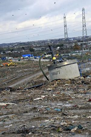 The Beddington Lane landfill site