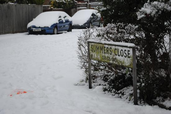 More snow set for London and Surrey?
