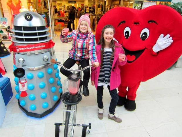 Shoppers show heart this Valentines