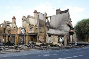 "Reeves family keep ""open mind"" over plans for torched site"