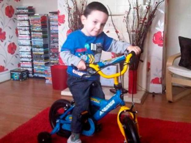 Mother running marathon for epileptic son