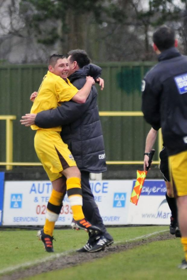 You Beauty-man: Harry Beautyman has become a major part of Sutton United boss Paul Doswell's plans for next season