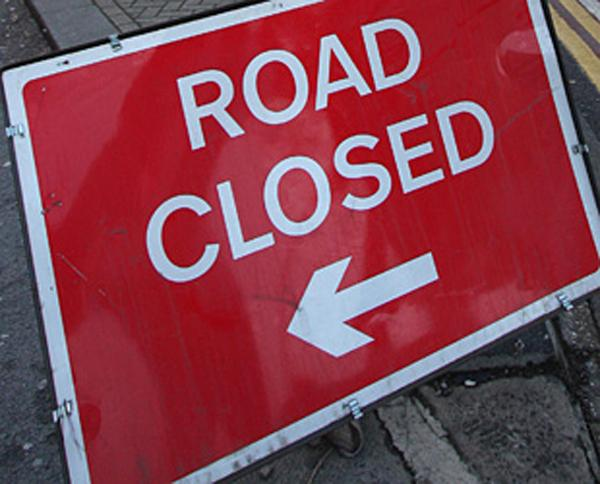 Epsom road to close for repair work