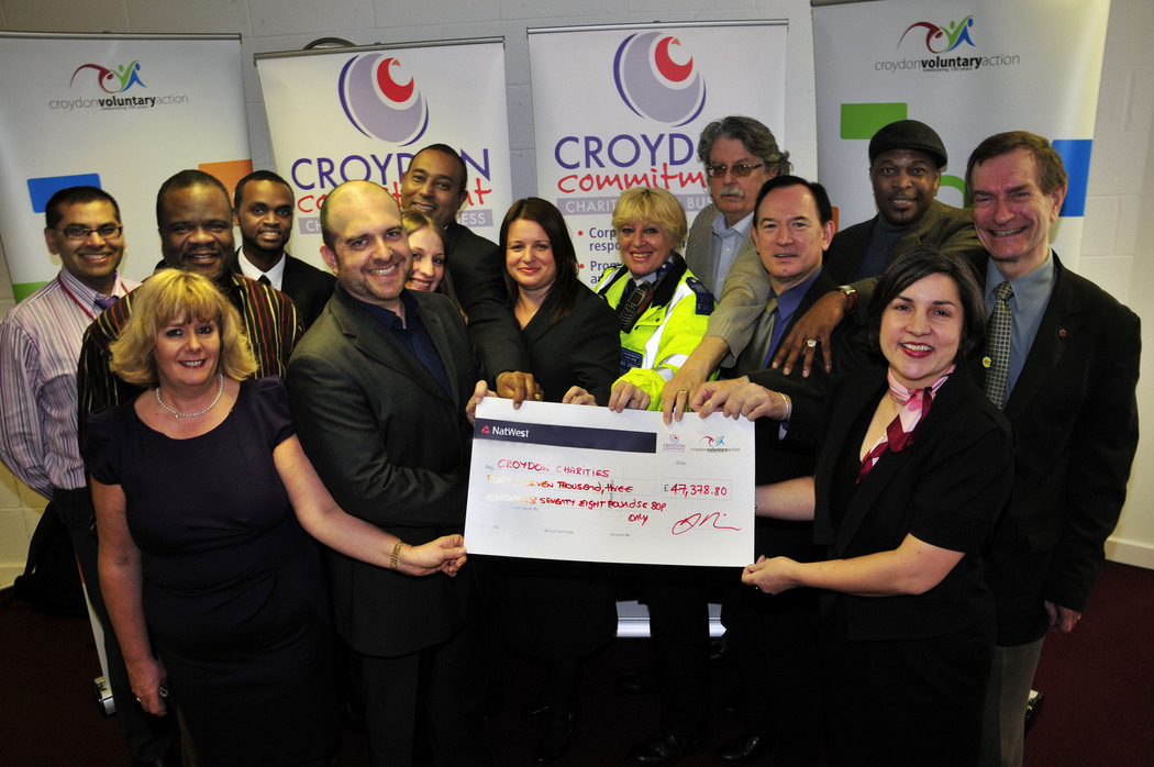 Croydon charities are to benefit from £48,000
