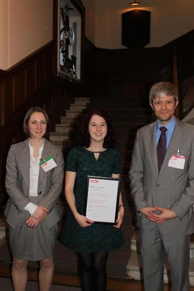 Medical student scoops top prize