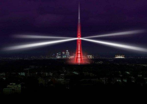 Spectacular light show planned for Crystal Palace to mark digital switchover