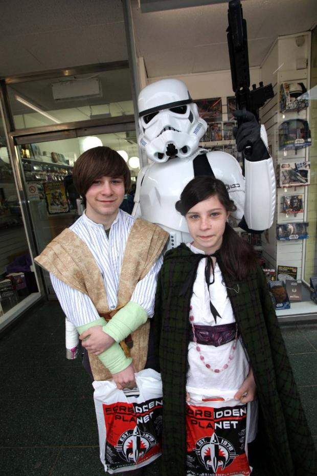 Star Wars in Croydon as the Empire invades