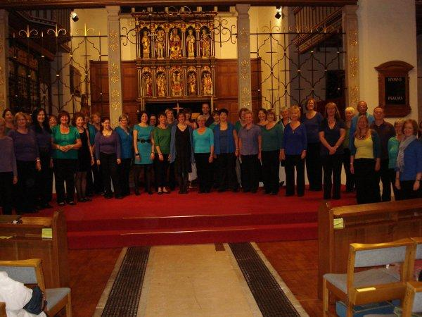 Choir takes Epsom audience on musical journey