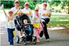 Breast cancer charity hopes to get whole family walking