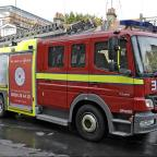 Firefighters called to blaze at Purley gym
