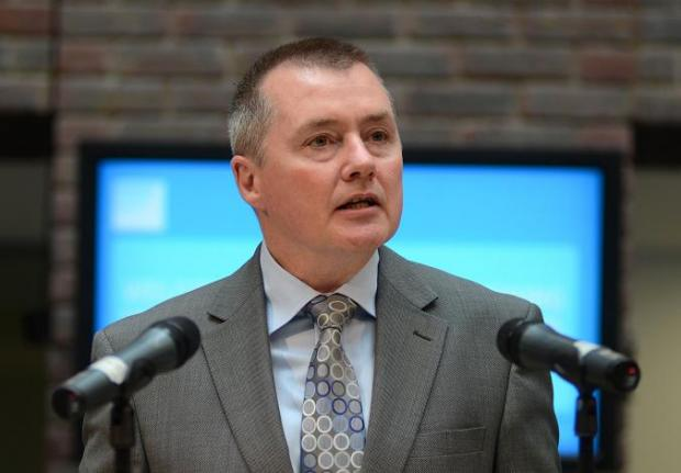 British Airways boss Willie Walsh was at Kingston University