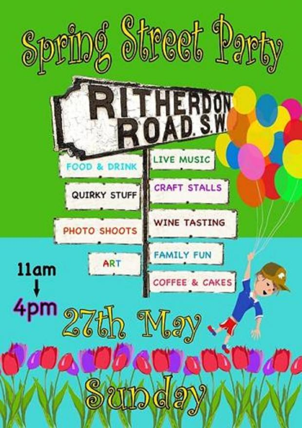 Annual Ritherdon Road street party taking place this month