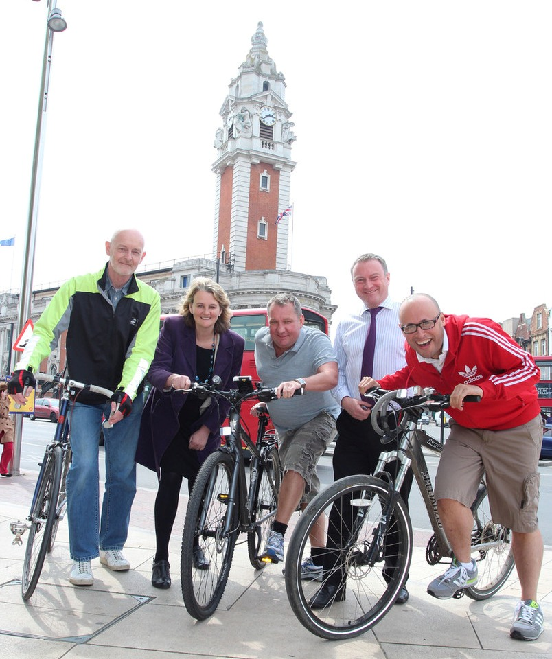 Council leader is wheelie up for charity bike ride