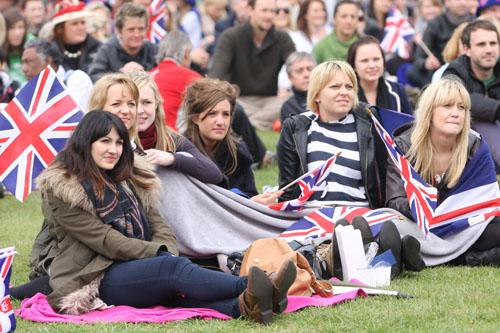 Patriotic revellers will be out in force at the Battersea event