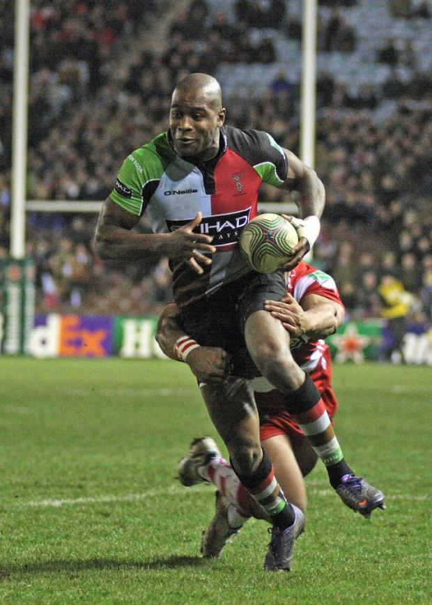 Man with a plan: Harlequins winger Ugo Monye