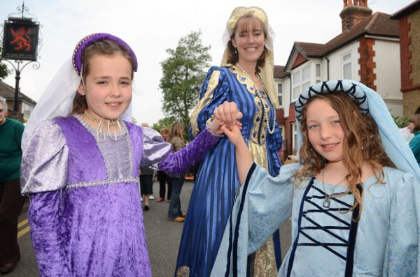 On Saturday, May 19, record numbers turned out to celebrate the fair, which dates back to 1259