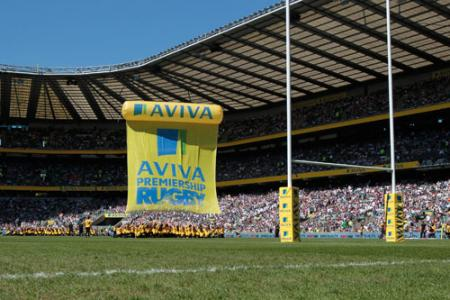 Harlequins triumphed over Leicester to secure their first Aviva Premiership title at Twickenham.