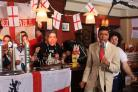 Chris Kamara takes lead vocals on Sing 4 England
