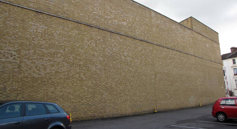 Your Local Guardian: Waitrose wall in Kingston