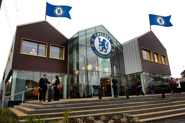 Paying the Blues: An artist's impression of what the Life Centre could look like with some Chelsea branding