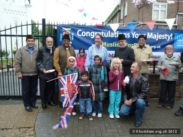 London Mosque hosting Jubilee Party