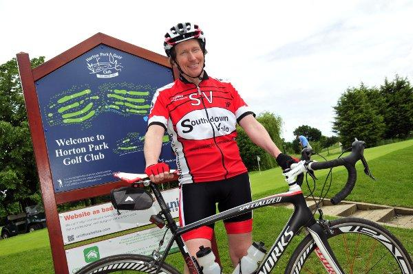 Richard Haygarth will cycle from Lands End to John O'Groats