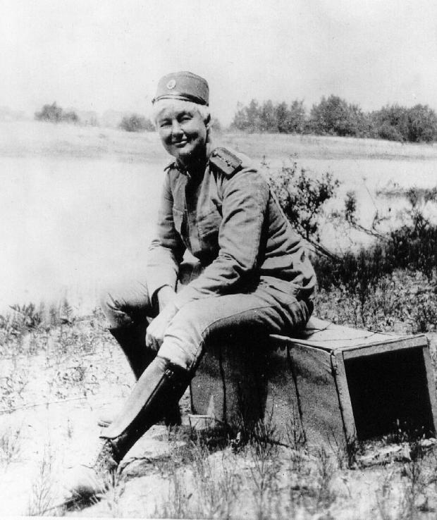Flora Sandes in the Serbian army