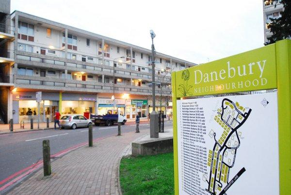 Danebury Avenue is at the heart of plans for Roehampton