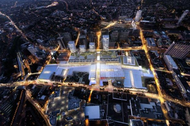 Computer image shows how Westfield would transform Croydon