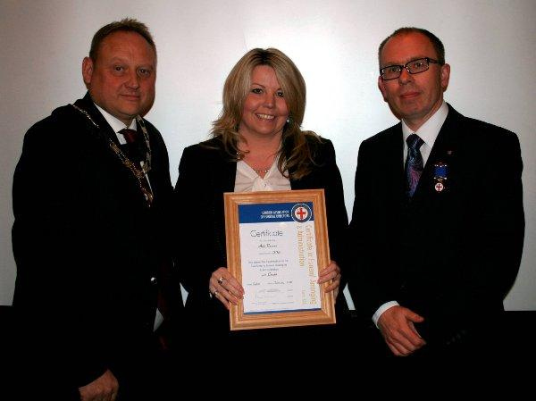 Funeral Director takes best in London mark