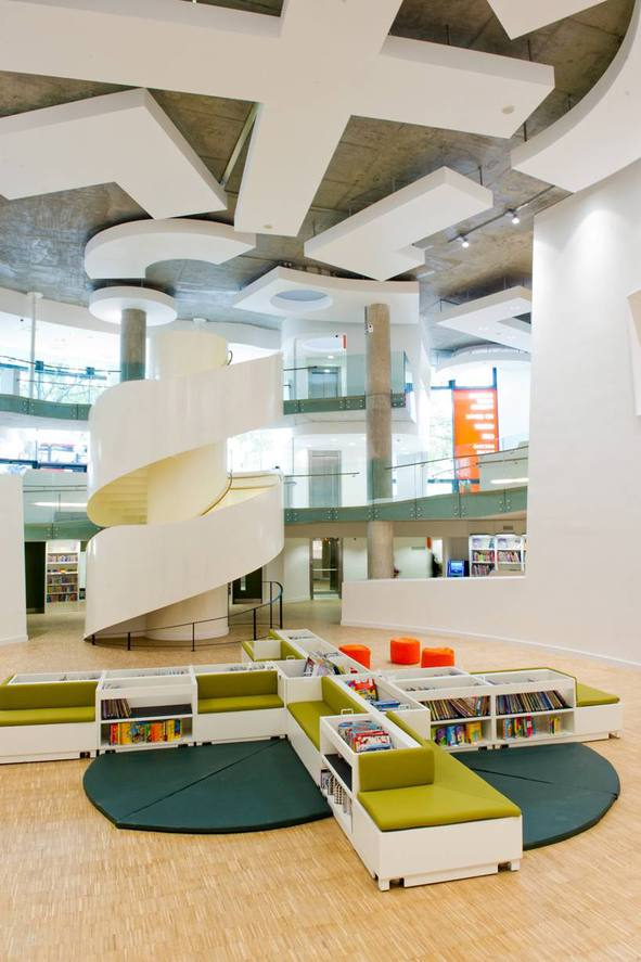 Clapham library was opened this week