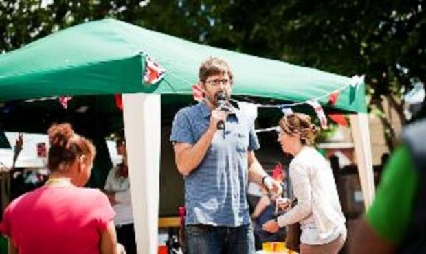 Louis Theroux visits school fair