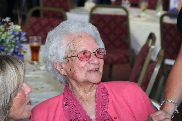 Beatrice Ernstzen celebrated turning 100 with a party in Stoneleigh