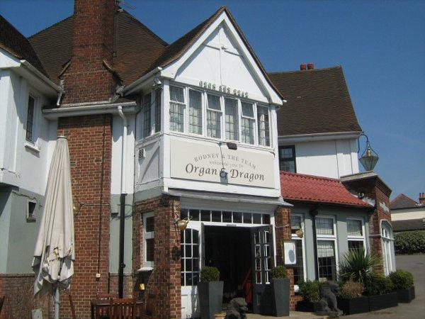 The Organ and Dragon, on London Road in Ewell, closed on Wednesday