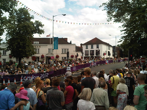 Esher - Olympics men's road race