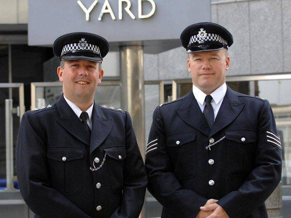 Acting borough commander Rob Atkin (left) is ready for next week