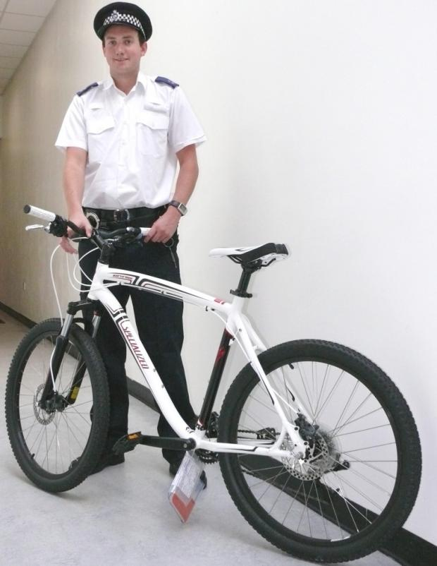 Police appeal for owner of stolen bike