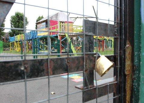 Streatham Vale adventure playground stands empty